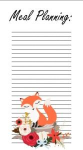 fox meal