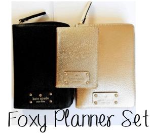 foxy planner set