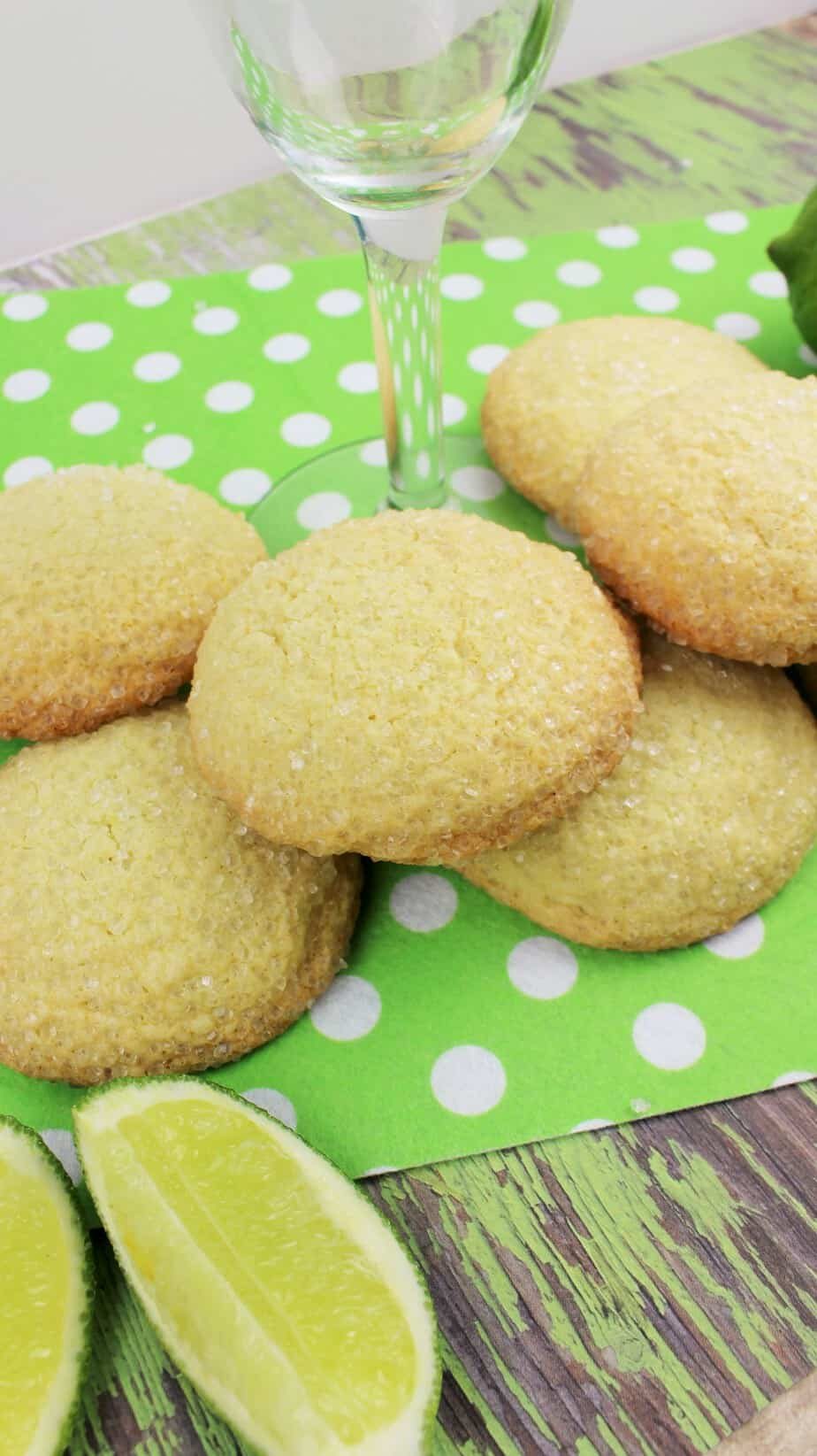 Lime Margarita Cookies 1-2