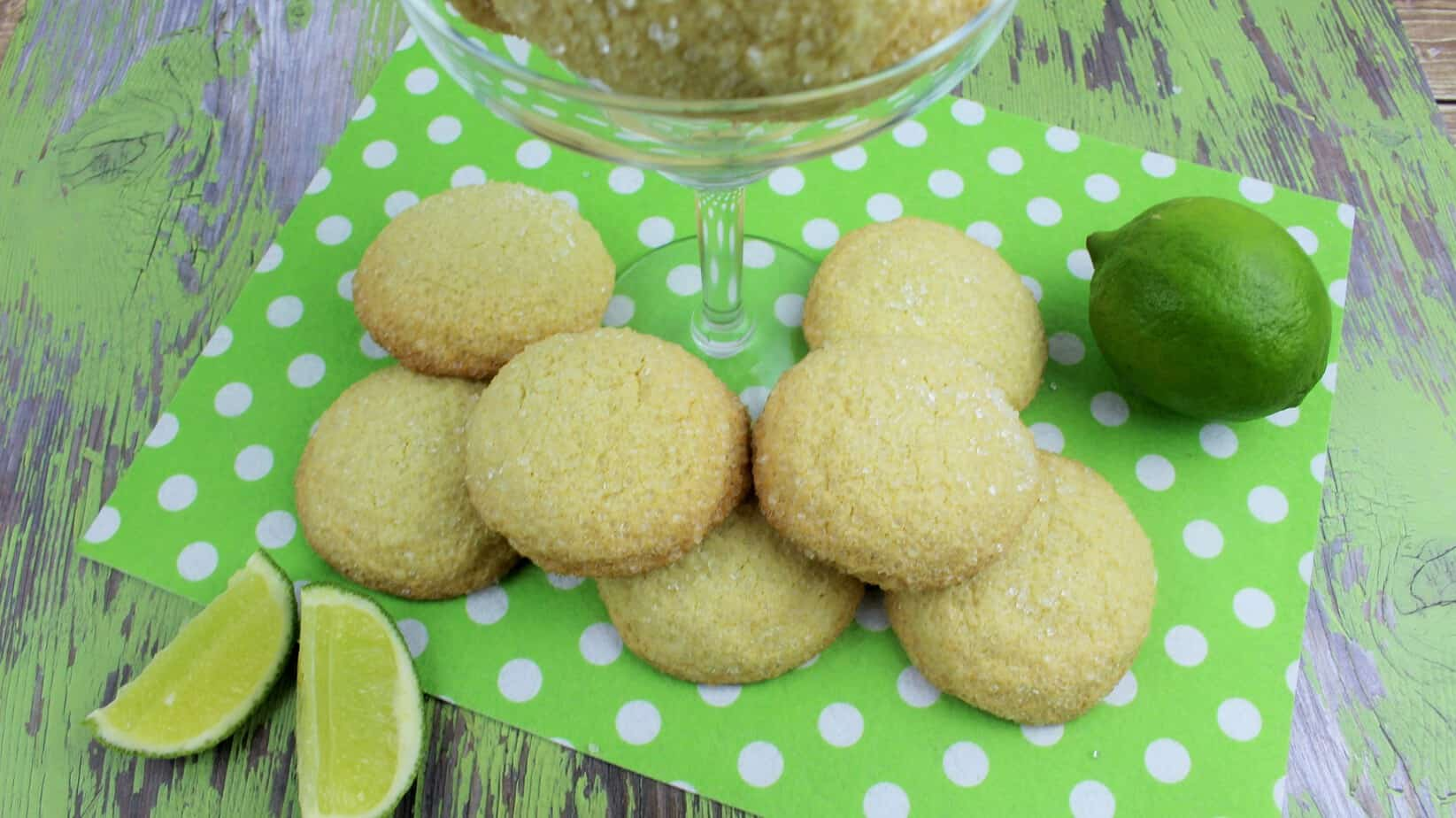 Lime Margarita Cookies 1-4