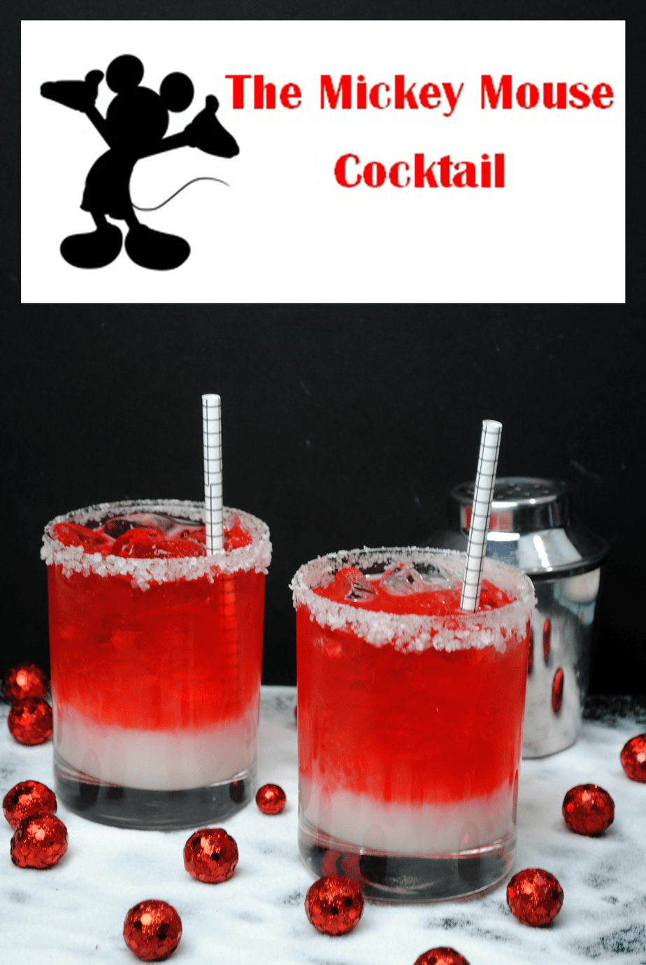 Mickey Mouse Cocktail Have Fun At your Next Party