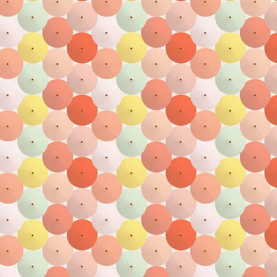 Digital Paper - Paper Umbrellas-05