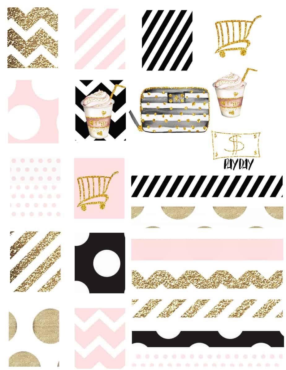 main sticker sheet