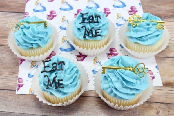 Alice in Wonderland Cupcakes Recipe