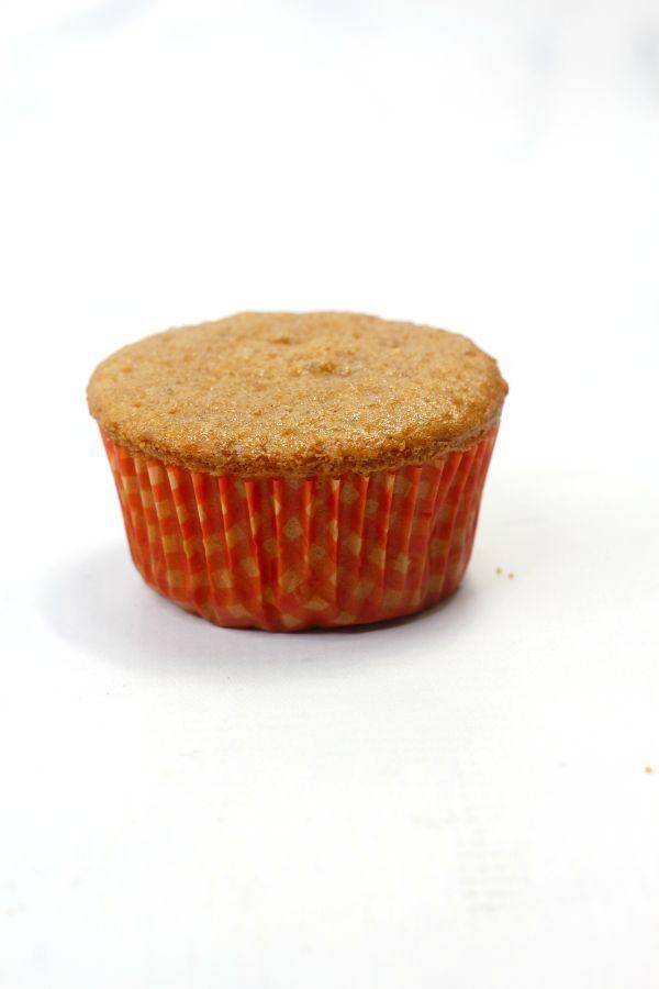 a pumpkin spice cupcake